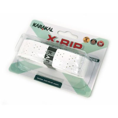 Karakal X-Rip Replacement Grip-White