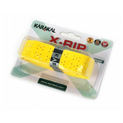 Karakal X-Rip Replacement Grip-Yellow