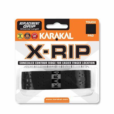 Karakal X-Rip Replacement Grip-White - Black