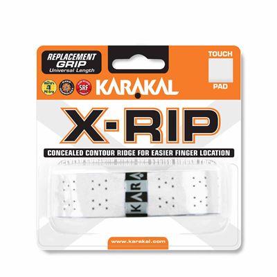 Karakal X-Rip Replacement Grip-White