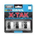 Karakal X-Tak Overwrap Grip - Pack of 3 - White