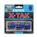 Karakal X-Tak Overwrap Grip - Pack of 3 - Blue