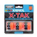Karakal X-Tak Overwrap Grip - Pack of 3 - Orange