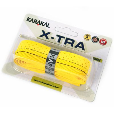 Karakal X-Tra Replacement Grip-Yellow