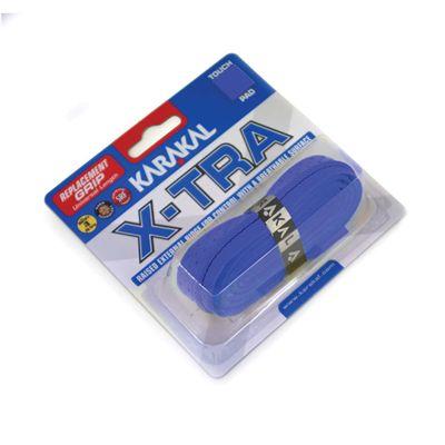 Karakal X-Tra Replacement Grip - Blue - Angle
