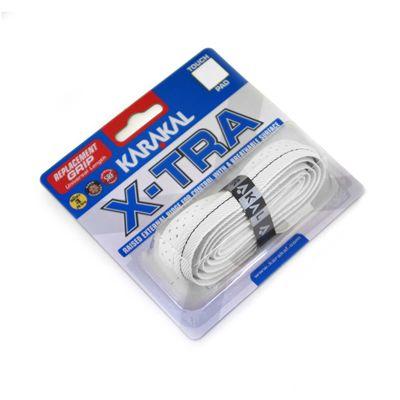 Karakal X-Tra Replacement Grip - White - Angle