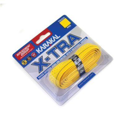 Karakal X-Tra Replacement Grip - Yellow - Angle