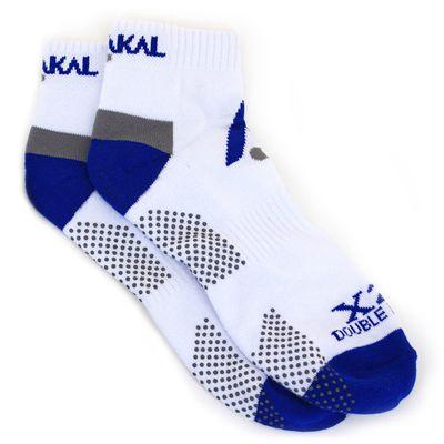 Karakal X2 Plus Mens Ankle Socks - White Navy