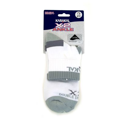 karakal x2 technical ankle socks - main image