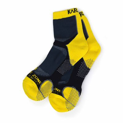 Karakal X4 Ankle Socks - Yellow