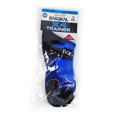 Karakal X4 Trainer Socks - navy - package