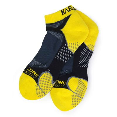 Karakal X4 Trainer Socks - Yellow