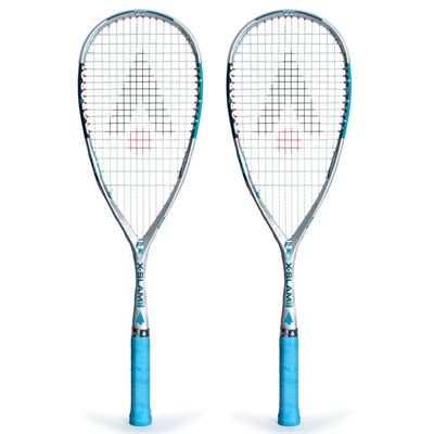 Karakal X Slam FF Squash Racket Double Pack AW16