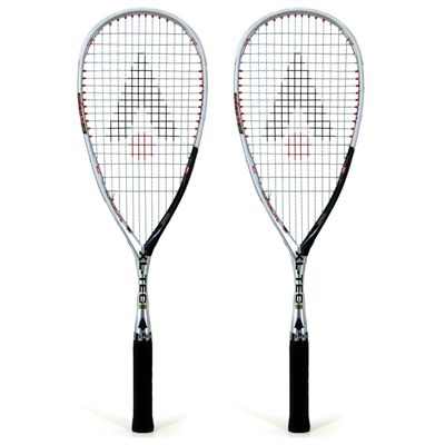 Karakal XL-Tec 125 Squash Racket Double Pack 2014
