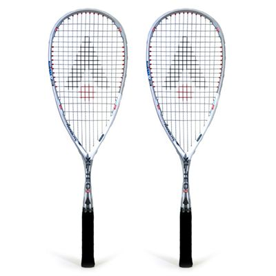 Karakal XL-Tec 140 Squash Racket Double Pack 2014