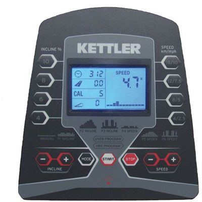 Kettler Pacer Treadmill Console