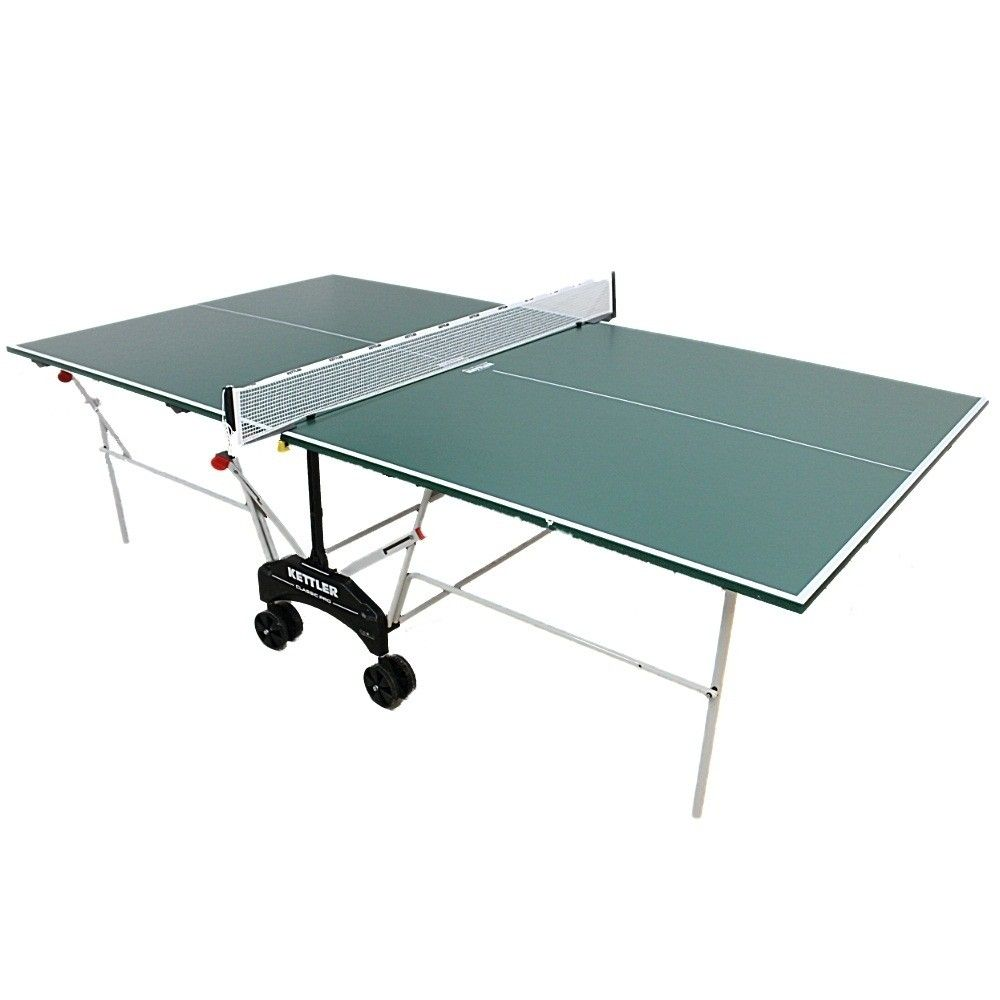 Kettler classic pro outdoor table tennis table - Weatherproof table tennis table ...