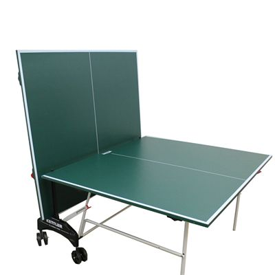 Kettler Classic Pro Outdoor Table Tennis Table 2012 Aluminiium Back Playback