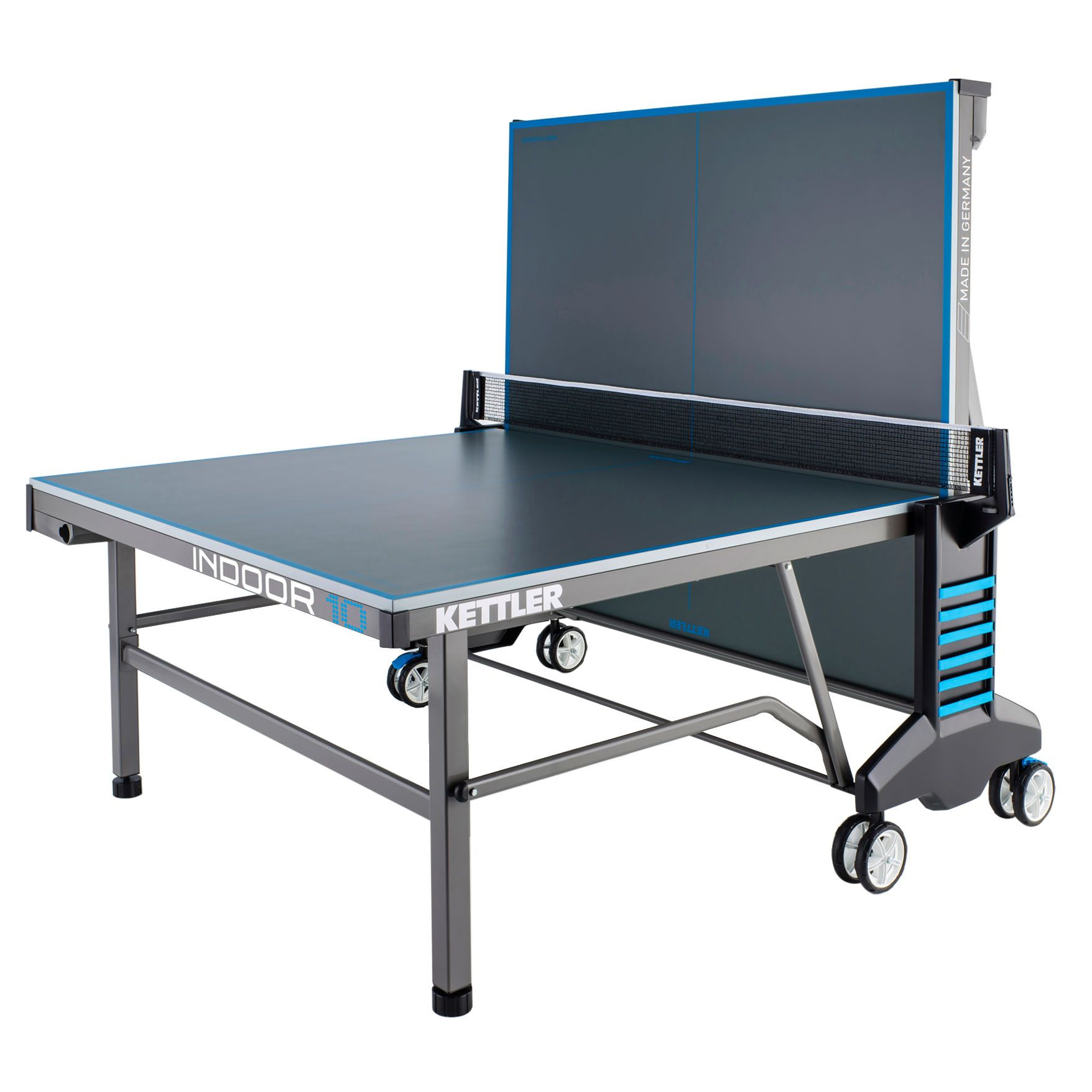 Kettler classic indoor 10 table tennis table for 10 by 10 table
