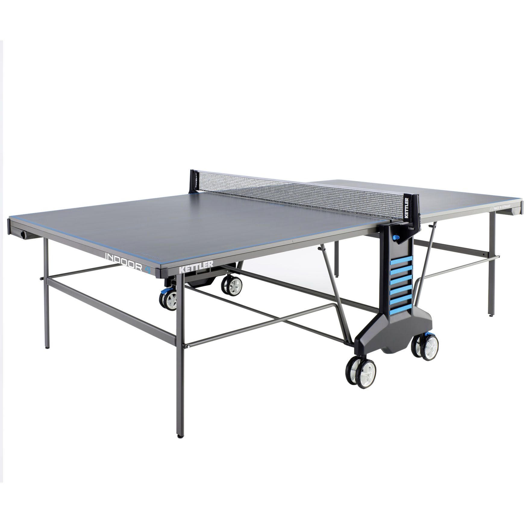 Kettler classic indoor 4 table tennis table for Table exterieur kettler