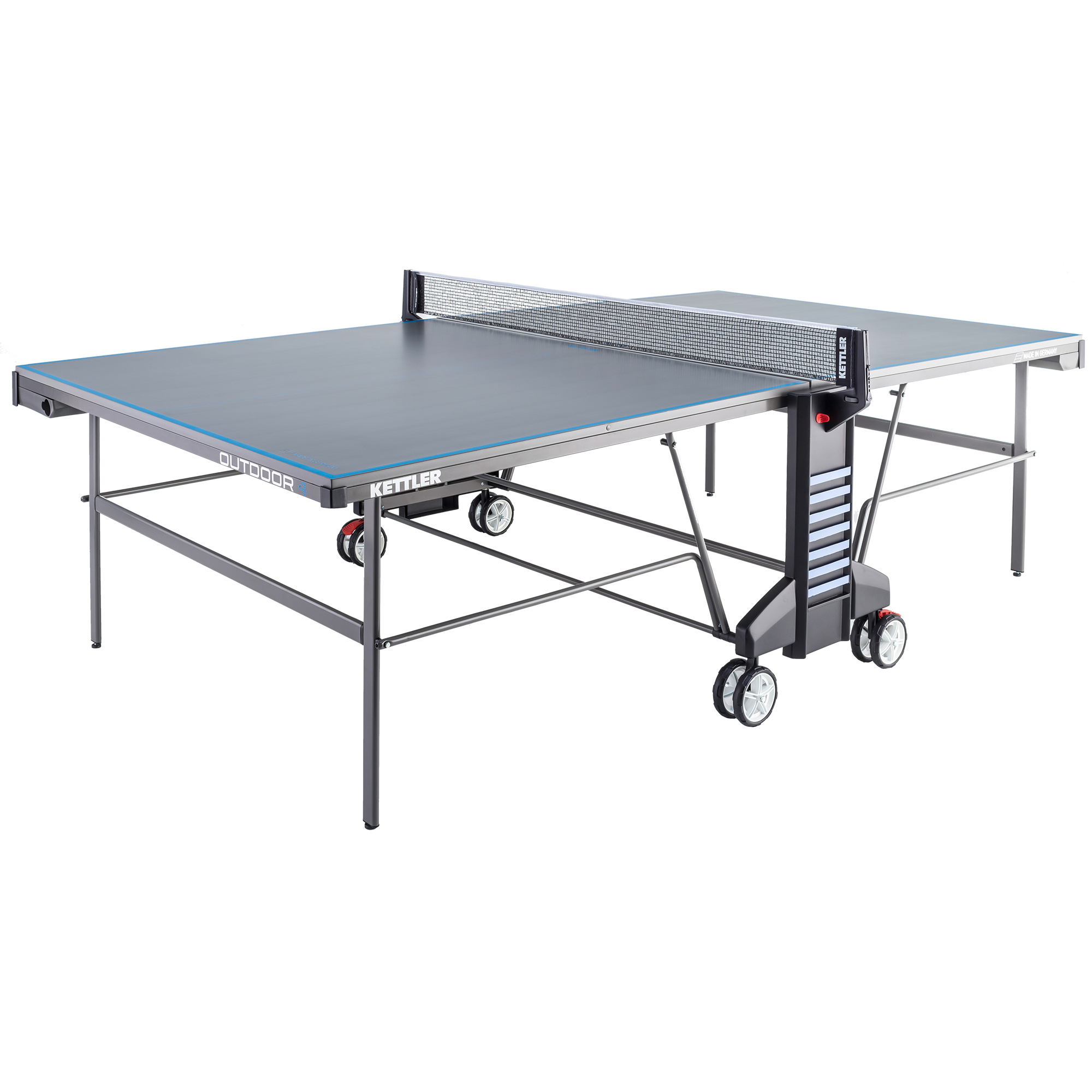 Outdoor 4 table tennis table the kettler 4 outdoor table tennis table