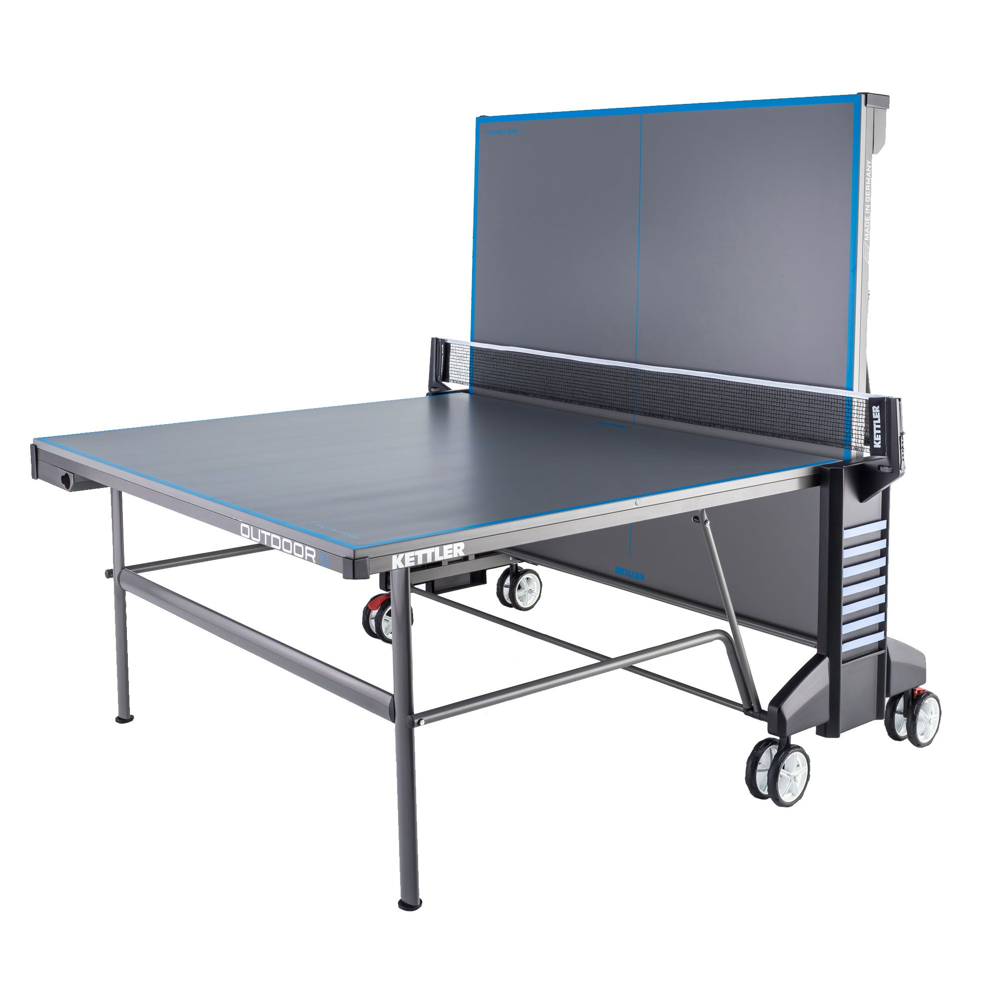 Kettler classic outdoor 6 table tennis table for Table 6 table