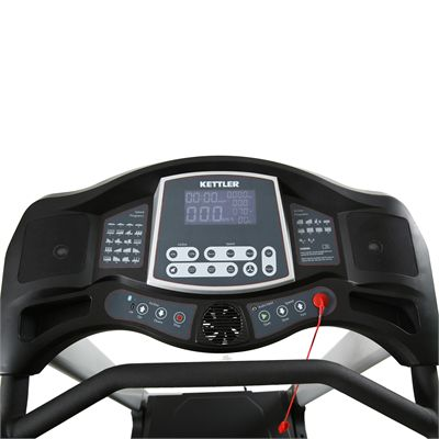 Kettler Atmos Pro Treadmill Console View