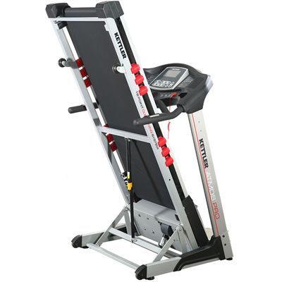 Kettler Atmos Pro Treadmill Folded Right Side View