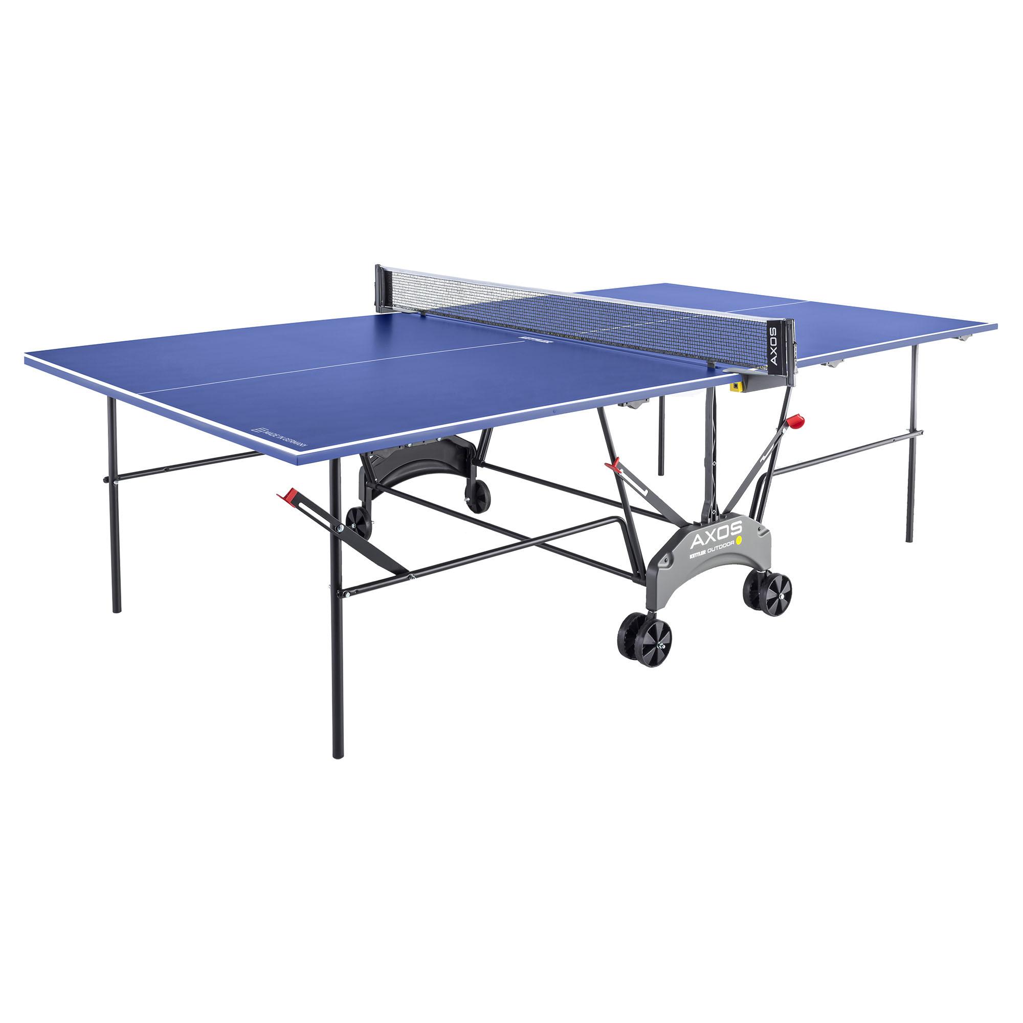 Outdoor table tennis table kettler axos 1 outdoor table tennis table