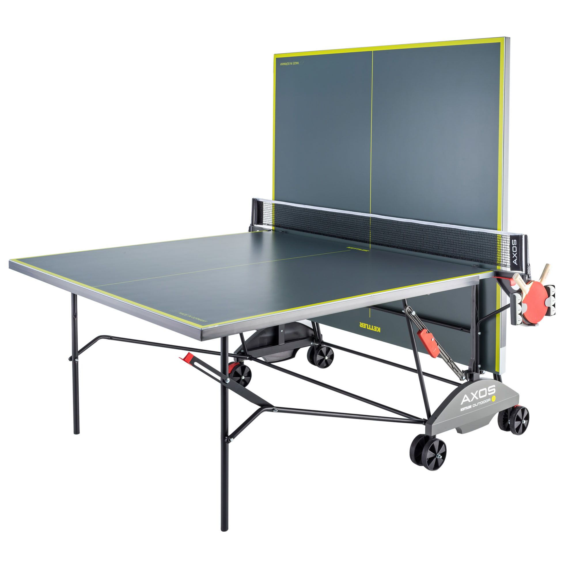 Kettler axos 3 outdoor table tennis table - Weatherproof table tennis table ...