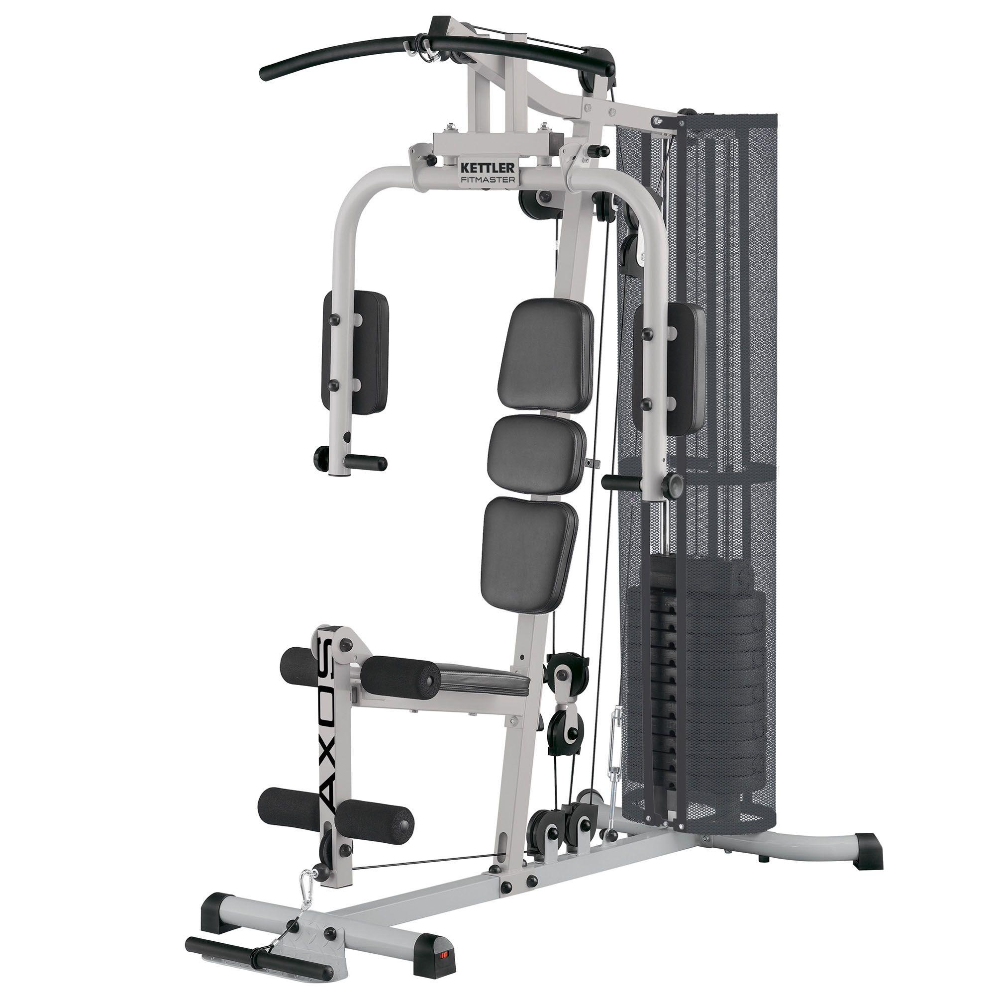 Kettler axos fitmaster multi gym - Banc de musculation kettler sport rouge ...