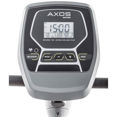 Kettler Axos Rowing Machine Console View