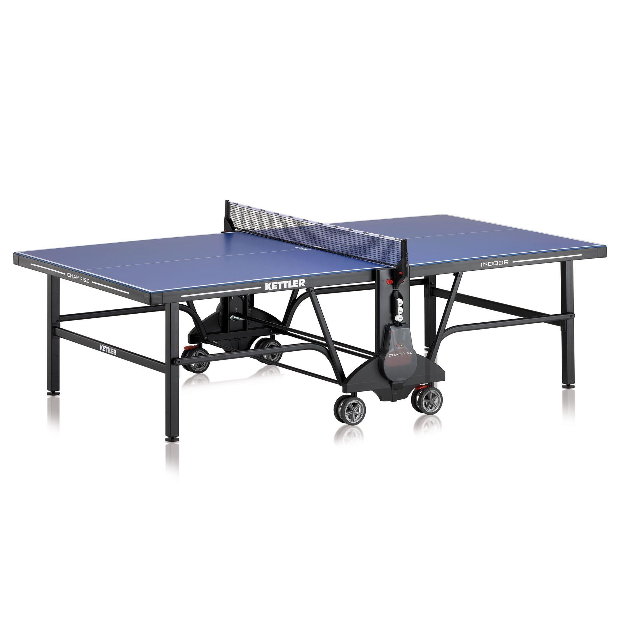 kettler champ 5 0 indoor table tennis table. Black Bedroom Furniture Sets. Home Design Ideas