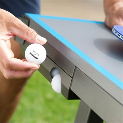 Kettler Classic Outdoor 4 Table Tennis Table - Holder