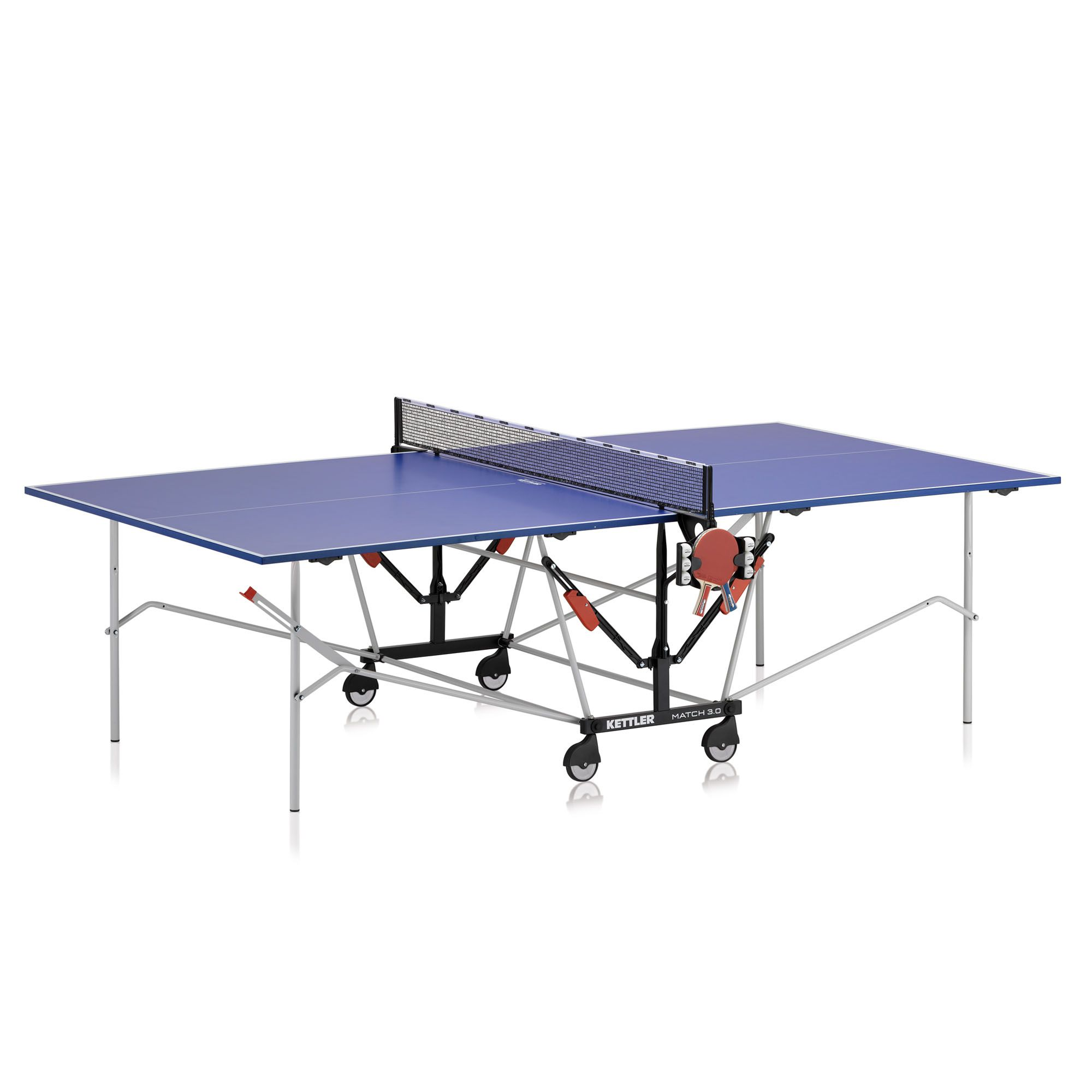 Kettler match 3 0 indoor table tennis table for Table kettler