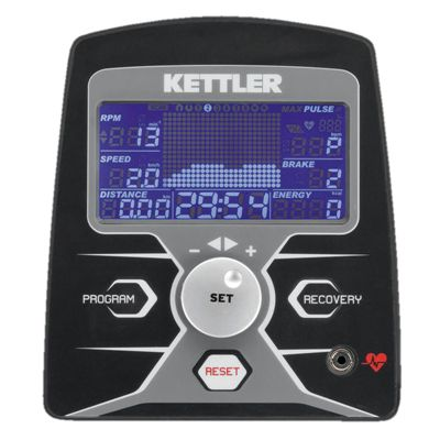 Kettler Rivo P Advantage Elliptical Cross Trainer 2015 Console Image