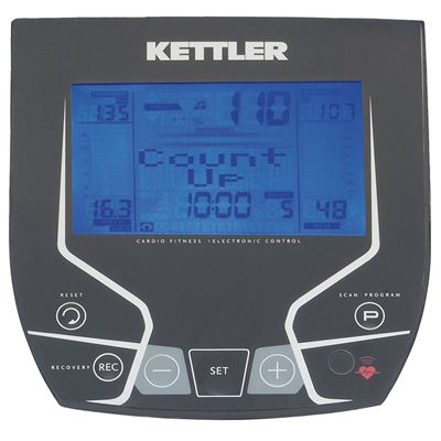 Kettler Skylon 3 Folding Elliptical Cross Trainer Console