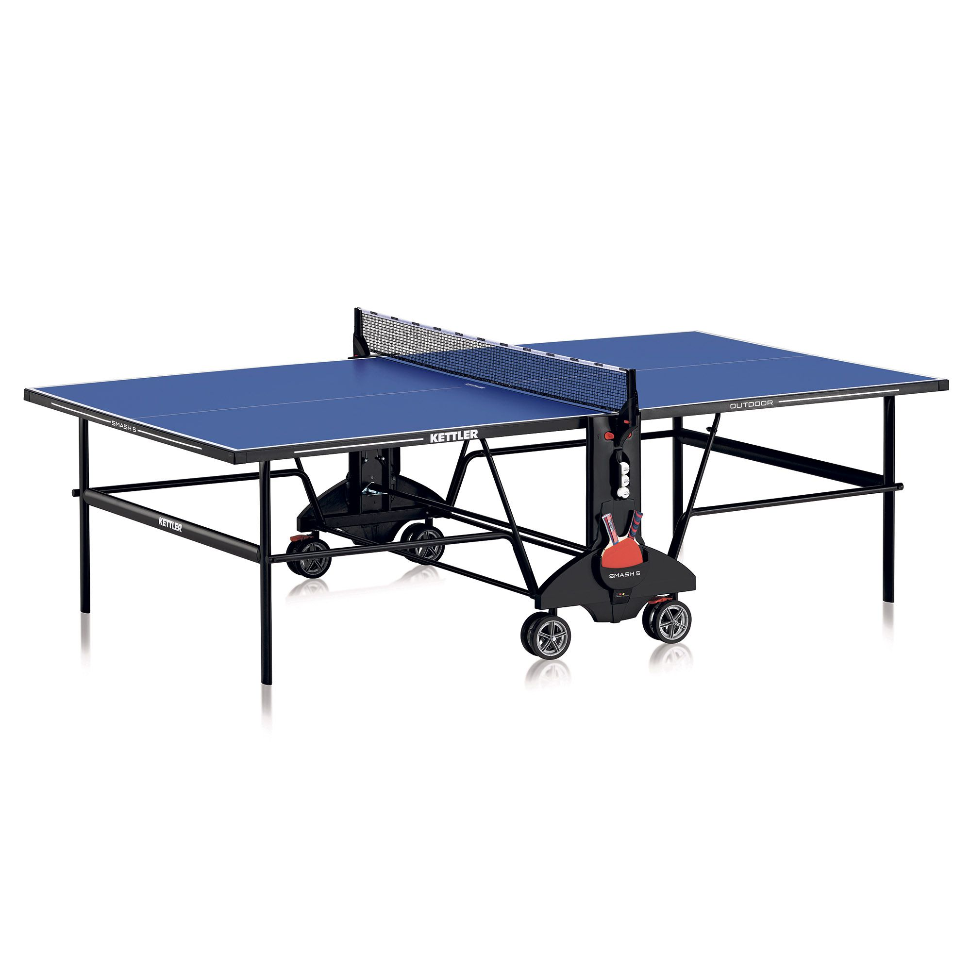 Kettler smash 5 0 outdoor table tennis table - Weatherproof table tennis table ...
