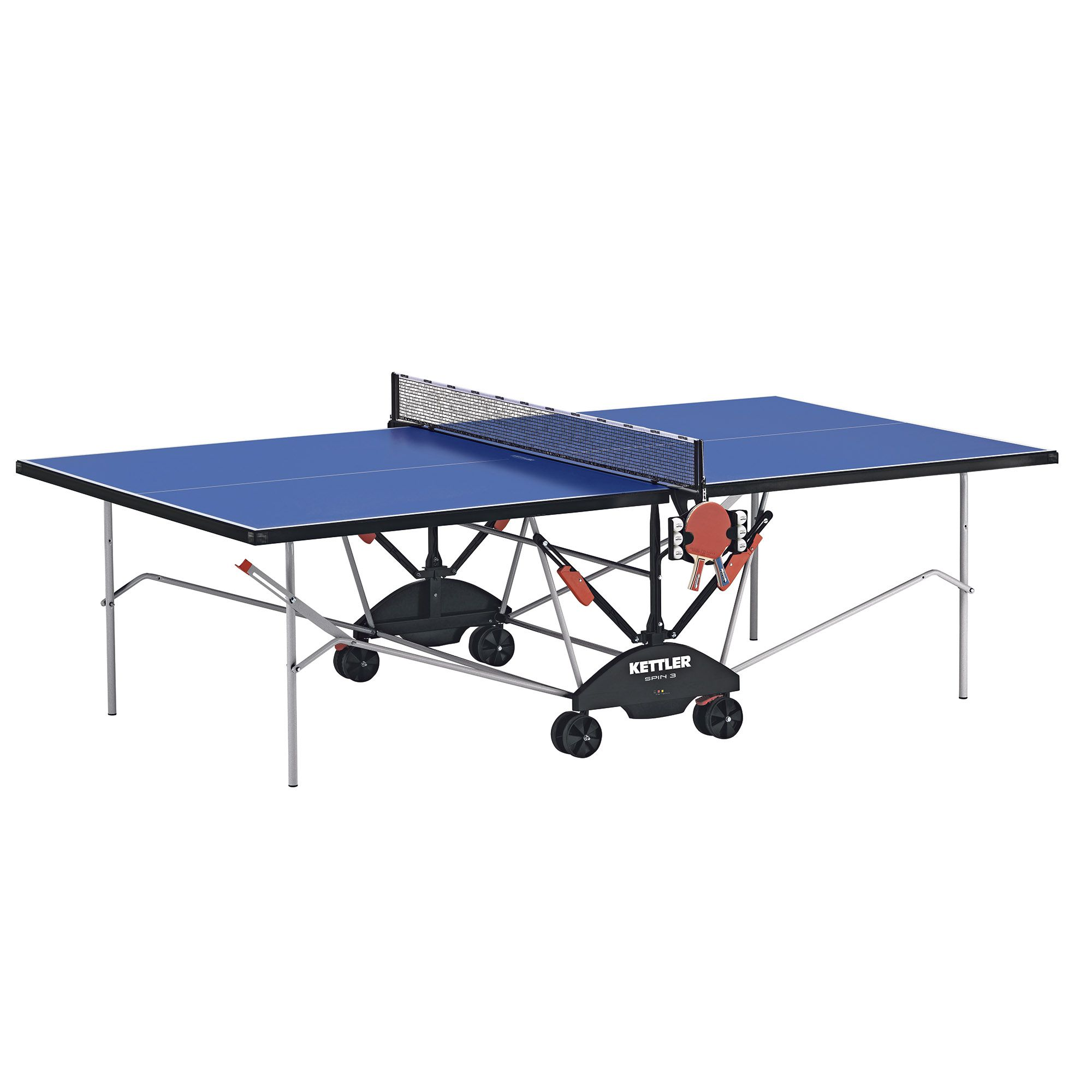 Kettler spin 3 0 indoor table tennis table for Table kettler