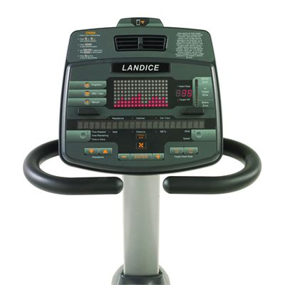 Landice R9 Recument Exercise Bike - Console Image