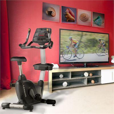 Landice U9 Exercise Bike - Lifestyle Image