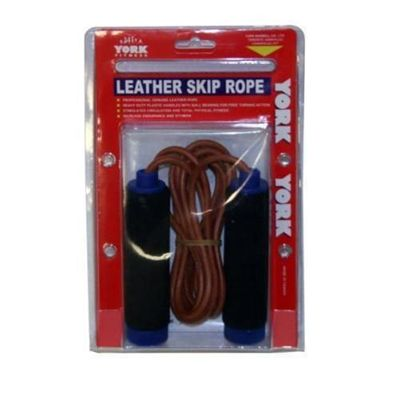 York Leather Skipping Rope Packaged