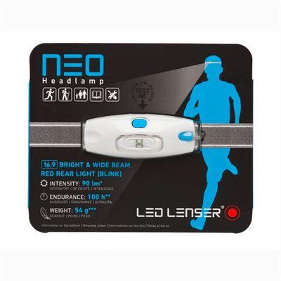 LED Lenser NEO Head Torch-Blue-Packaging