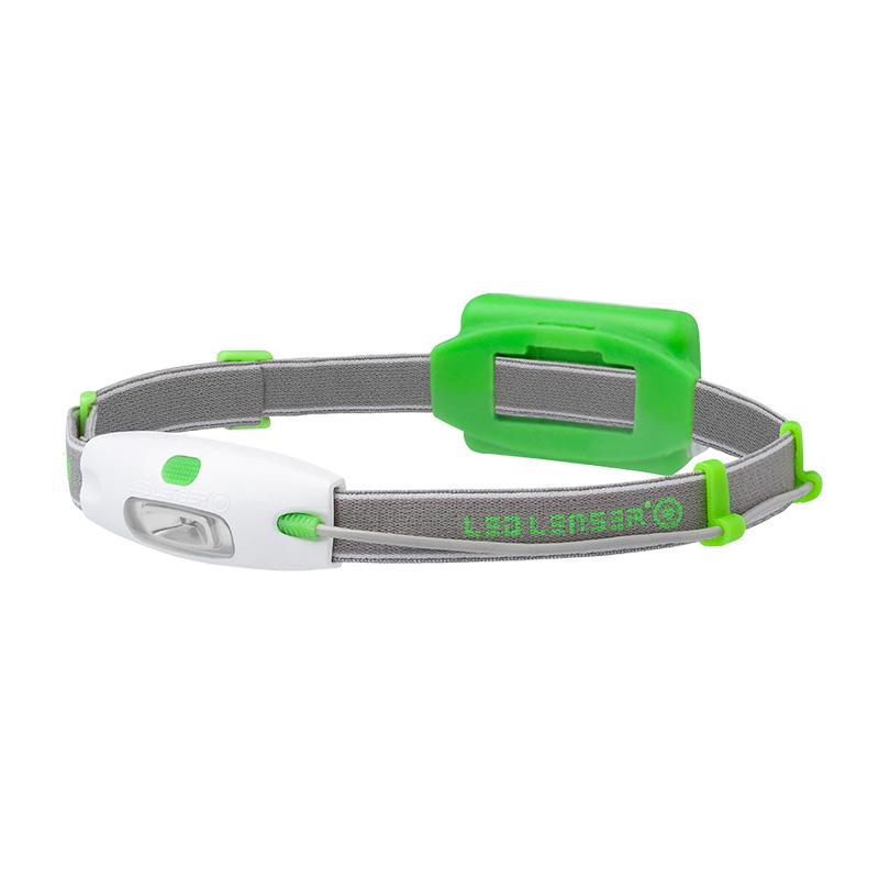LED Lenser NEO Head Torch  Green