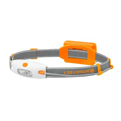 LED Lenser NEO Head Torch-Orange