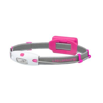 LED Lenser NEO Head Torch-Pink