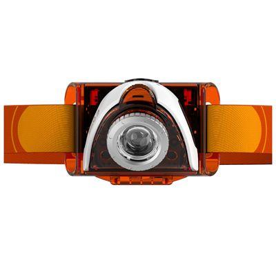 LED Lenser SEO3 Headlamp-Orange-Front View