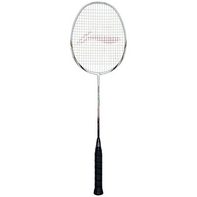 Li-Ning Ultra Carbon 9000 Badminton Racket - white