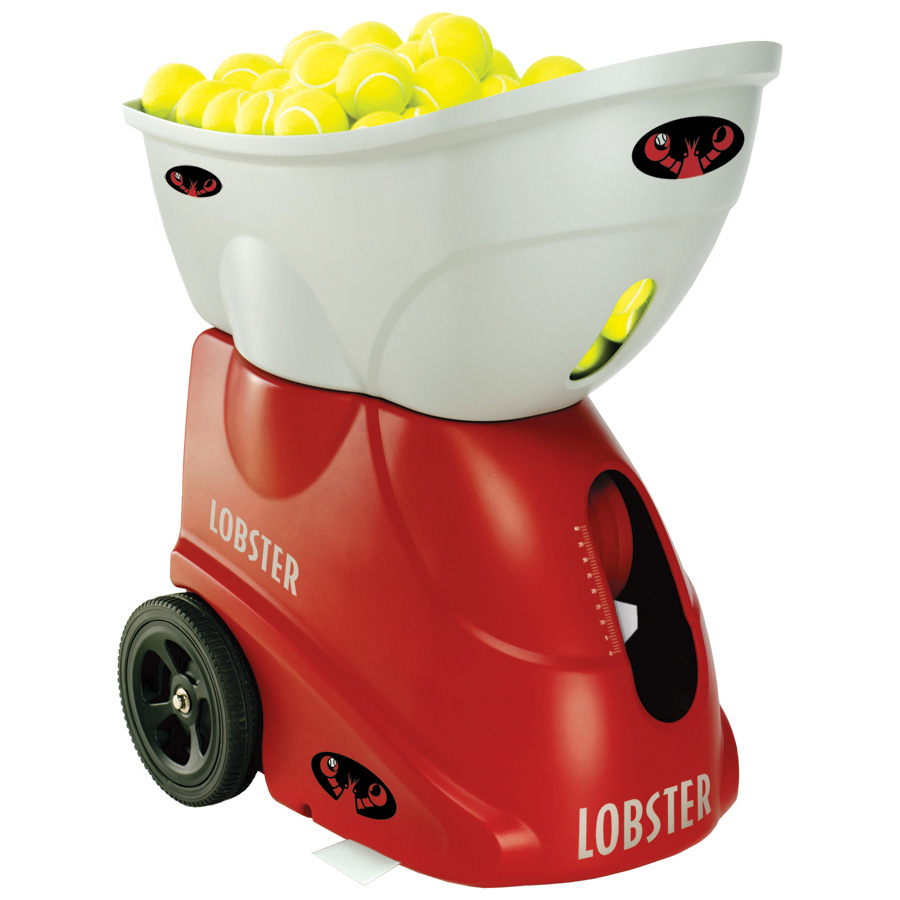 Lobster Elite 3 Tennis Ball Machine – Remote Control