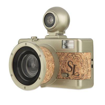 Lomography Fisheye 2 Brut Camera - side view